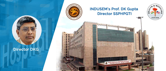 INDUSEM's Prof. DK Gupta Director SSPHPGTI