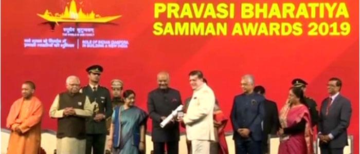 INDUSEM Patron Dr. K. Patel Awarded @ PBD2019